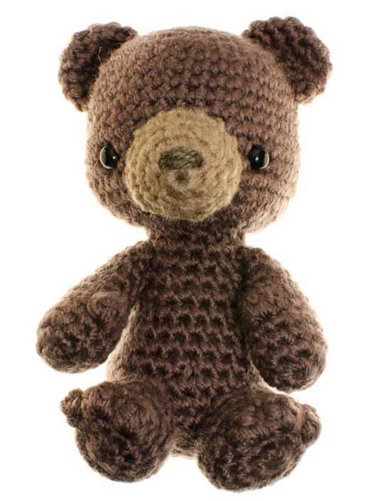 crochet amigurumi pattern bear