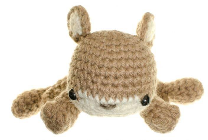 crochet amigurumi pattern squirrel