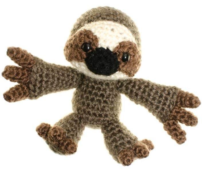 crochet amigurumi sloth pattern