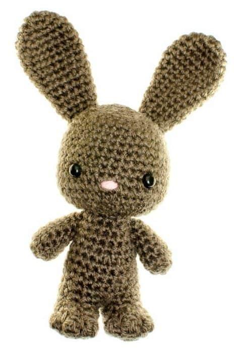 crochet amigurumi pattern rabbit