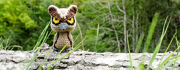 crochet amigurumi owl